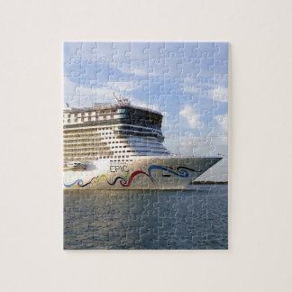 De verfraaide Boog van het Schip van de Cruise Puzzel
