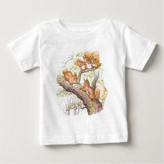 De Vergadering van de eekhoorn Baby T Shirts