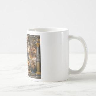 De vergadering van het Art. van Abraham en van Koffiemok