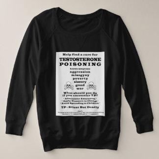 De Vergiftiging PSA van het testosteron Grote Maat Sweater