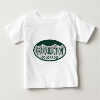 De vergunningsovaal van Grand Junction Baby T Shirts