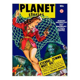 De Verhalen van de planeet - Eeuwige Zemmd moet Briefkaart