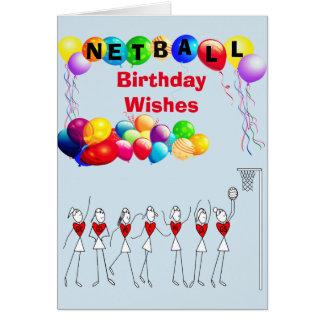 De Verjaardag van ballons wenst de Groet van het Briefkaarten 0
