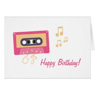De Verjaardag van de Band van de cassette Kaart