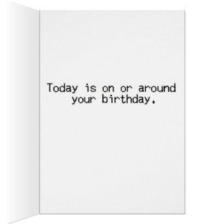De Verjaardag van de collega Kaart