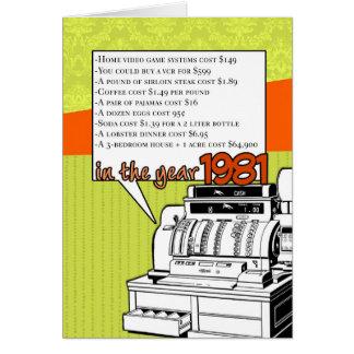 De Verjaardag van de Feiten van de pret - Kosten Briefkaarten 0