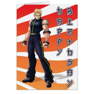 De Verjaardag van de Held van Manga Kaart