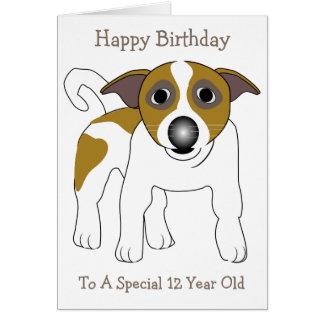 De Verjaardag van de hond twaalfde Kaart