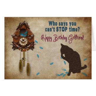 De Verjaardag van de Klok van de koekoek - Briefkaarten 0