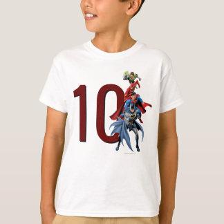 De Verjaardag van de Liga van de Rechtvaardigheid T Shirt