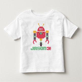 De Verjaardag van de robot Kinder Shirts