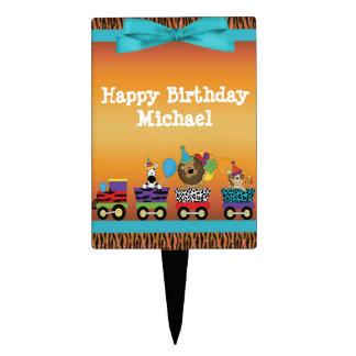 De Verjaardag van de Strepen van de Tijger van de Cake Topper