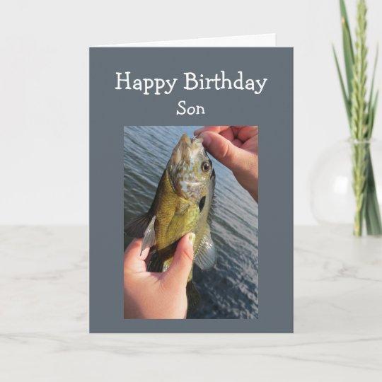 De Verjaardag Van De Zoon Van De Humor Van De Kaart