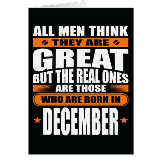 De Verjaardag van december (voeg Uw Tekst toe) Kaart