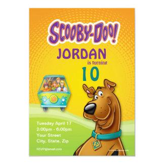 De Verjaardag van Doo van Scooby 12,7x17,8 Uitnodiging Kaart