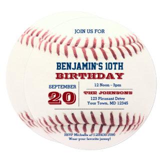 De Verjaardag van het honkbal om Uitnodiging