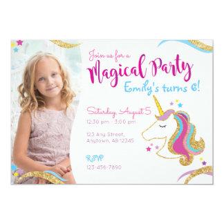 De Verjaardag van het meisje schittert de Magische Kaart