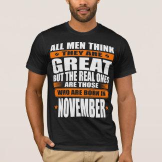 De Verjaardag van november T Shirt