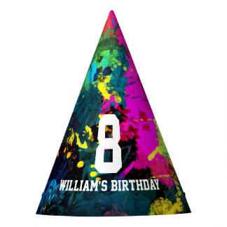De Verjaardag van Paintball Feesthoedjes