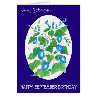 De Verjaardag van September van de Glorie van de Briefkaarten 0