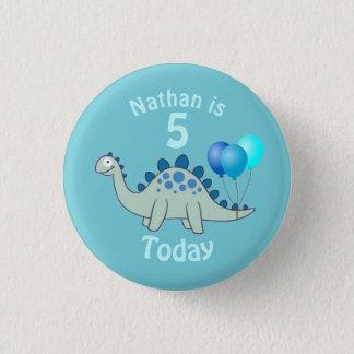 De Verjaardag van Stegosaurus Ronde Button 3,2 Cm