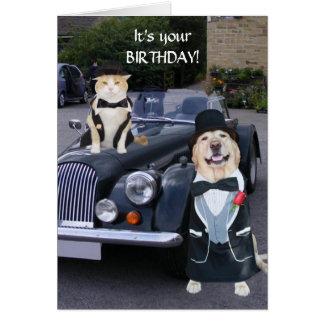 De Verjaardag van Uptown Kaart