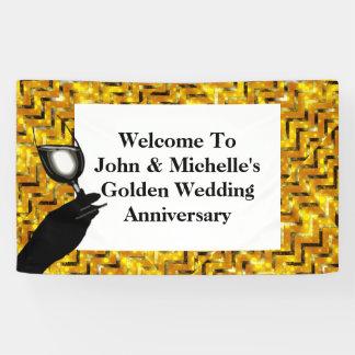 De verjaardagstoost   van de gouden bruiloft