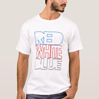 De Verkeerde Kleuren van Trippy - Rood Wit Blauw T Shirt