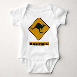 De Verkeersteken van Australië - de Kruising van Romper