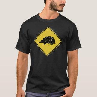 De Verkeersteken van Australië - Echidna T Shirt