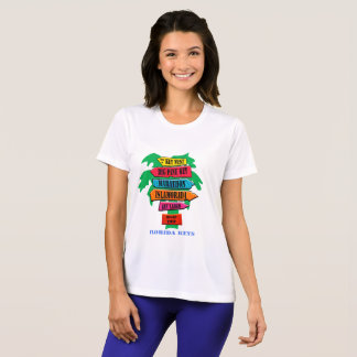 De Verkeersteken van de Sleutels van Florida T Shirt