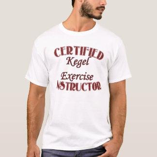 De verklaarde Instructeur van de Oefening Kegel T Shirt