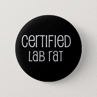 De verklaarde Rat van het Laboratorium Ronde Button 5,7 Cm