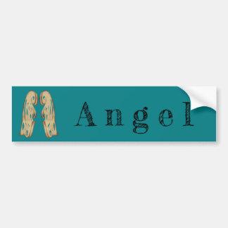 De Verklaring van de engel met Vleugels Bumpersticker