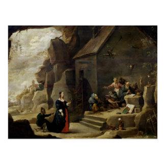 De verleiding van St. Anthony 2 Briefkaart