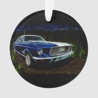 De verlichting van de auto ornament