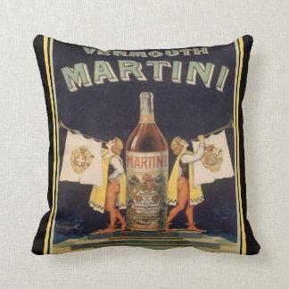 De vermouth Martini werpt Hoofdkussen Sierkussen