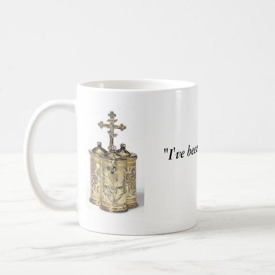 De vernieuwde Mok van de Koffie van het Citaat van