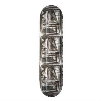 De veront*rusten-hand schilderde Abstracte 20,6 Cm Skateboard Deck