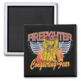 De Veroverende Vrees van de brandbestrijder Magneet