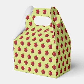 De Verpakking van het Voedsel van Apple Bedankdoosjes