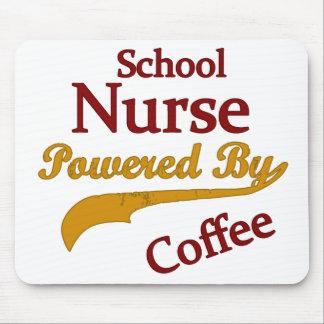 De Verpleegster van de school door Koffie wordt aa Muismatten