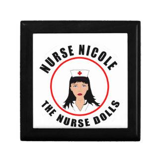 De verpleegster van Nicole Decoratiedoosje