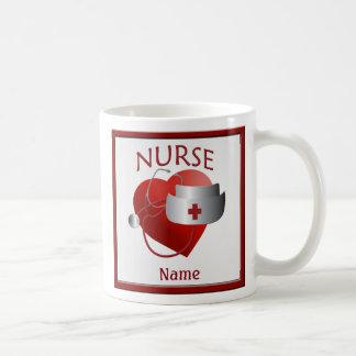 De verpleegsters hebben de Mok van de Naam van de