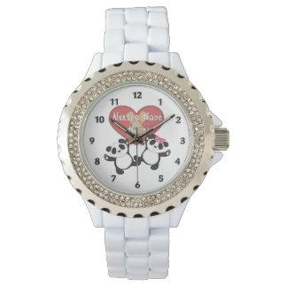 De verpleegsters hebben Hart Horloge