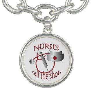 De Verpleegsters van de verpleegster roepen de Bedel Armband