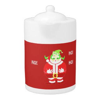De verraste theepot van de Kerstman