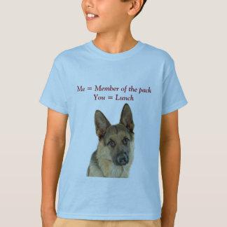 De Verrukking van de Minnaar van de Duitse herder T Shirt