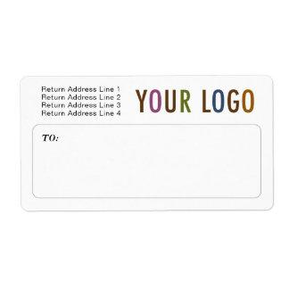 De Verschepende Etiketten van de Post van de