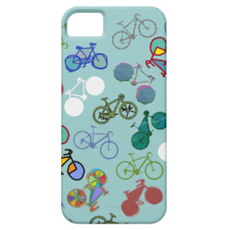 de verschillende fietsen koelen patroon barely there iPhone 5 hoesje